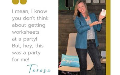 Teresa Thomas 💃 speaker, facilitator, author, Win/Win Networking + 50 Fun Things