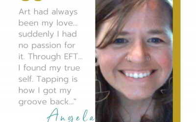 Angela Hed Vincent 💃 founder of True You Tapping