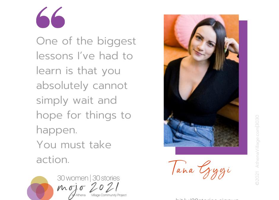 Meet Tana Gygi 💃  Founder + Lead Dreamer of The Social Age